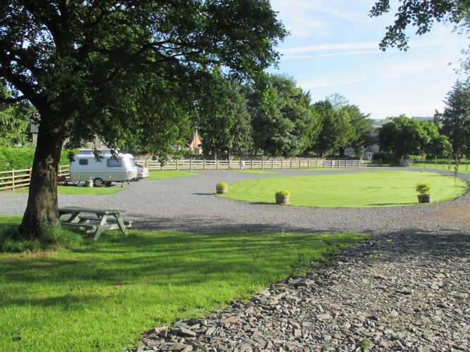 North Wales caravan site with excellent facilities