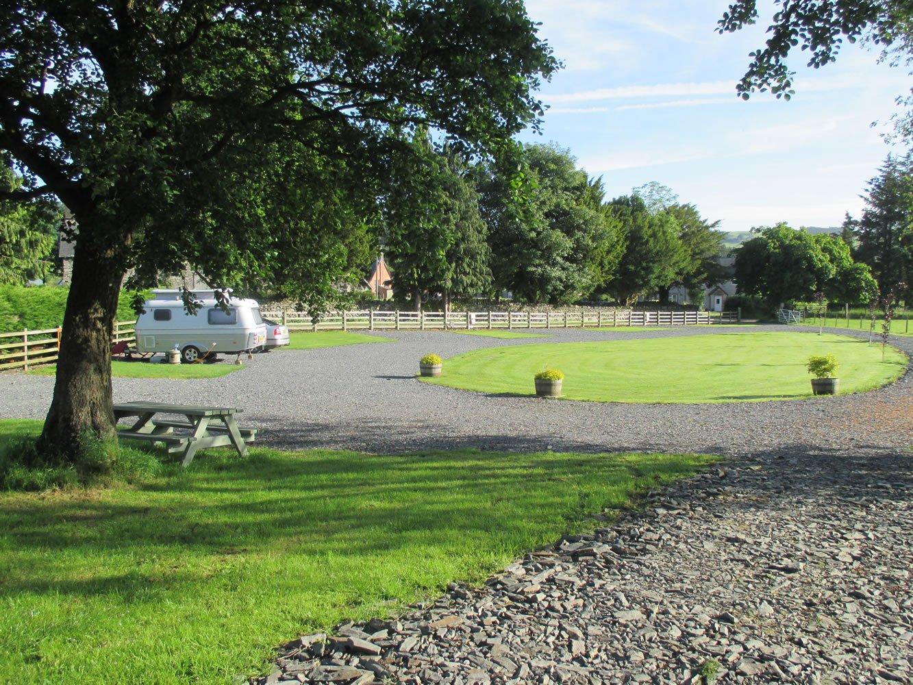 North Wales caravan site with excellent facilities