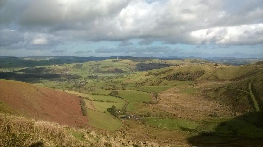 Caravan Site North Wales, Denbighshire.